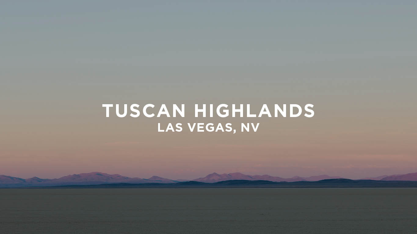 Tuscan Highlands