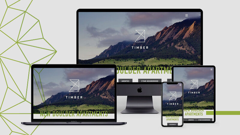 Timber Website - Apres Creative
